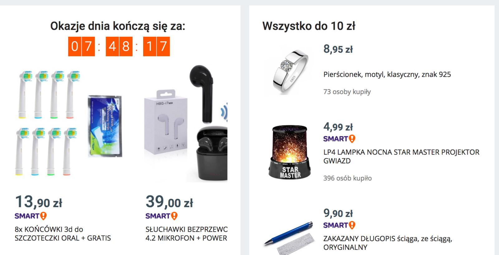 Promocje, liczniki i gwarancja dostawy w sklepach internetowych