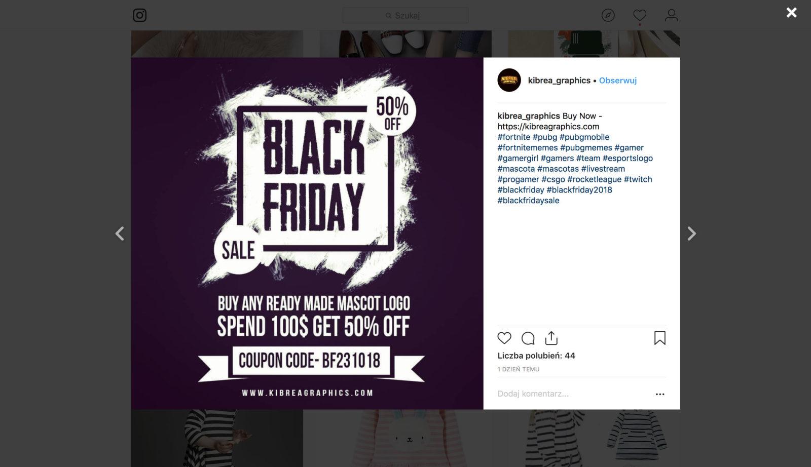 Black Friday Instagram - Jak Przygotować Kampanię ?