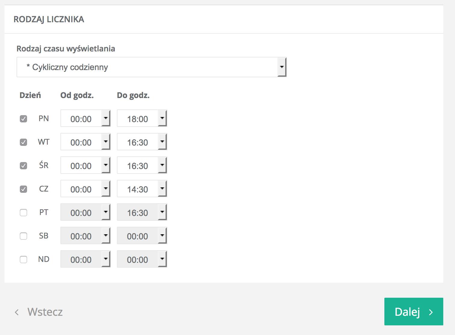 Licznik gwarancja dostawy beTimes.pl