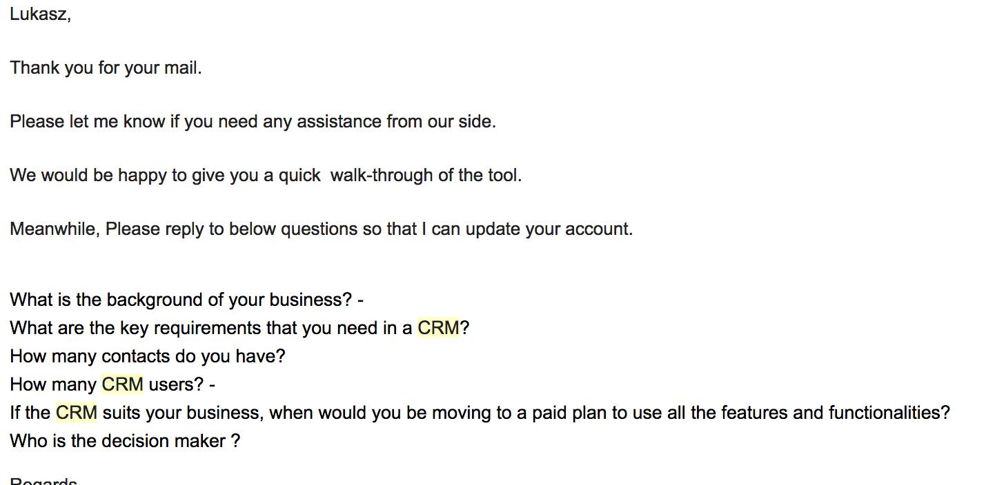 Jak często pisać do klientów? Follow Up!